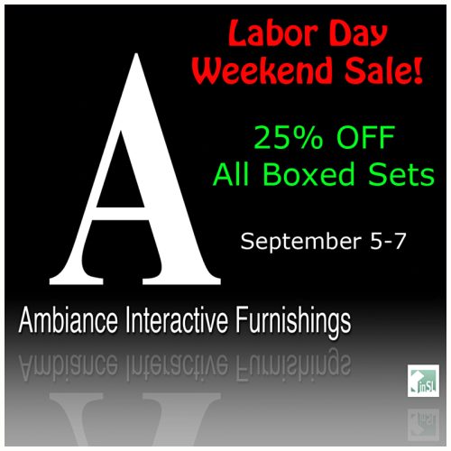 Ambiance interactive furnishings page 2 for Labor day weekend furniture sales