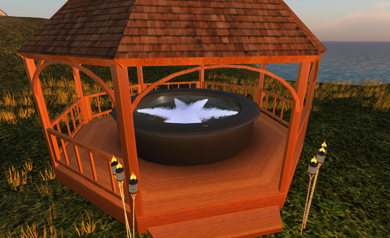 Outdoor hot tub gazebo plans for Diy hot tub gazebo