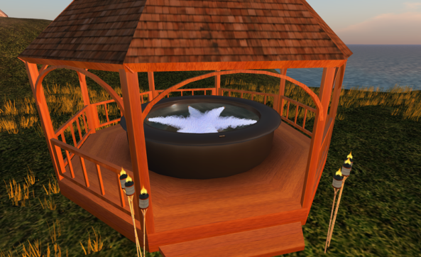 Diy hot tub gazebo diy wooden pdf diy wood plans for Diy hot tub gazebo